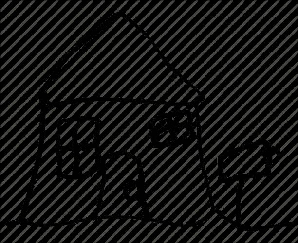 house simple 1 - تفسیر نقاشی کودکان