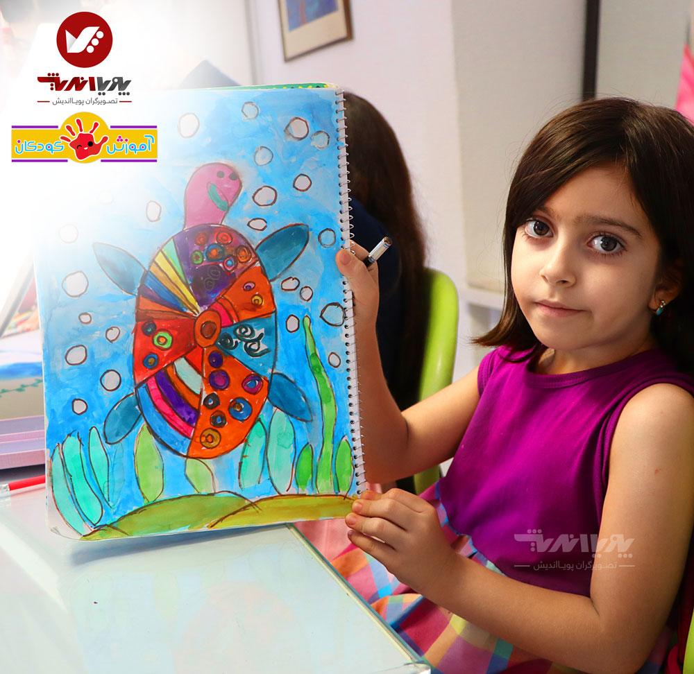 کلاس های نقاشی کودکان