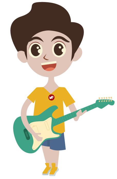 play gitur - چرا هنر باعث ارتقای هوش کودکان میشود؟