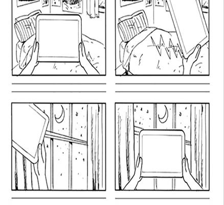 storyboard motion graphic 3 1 438x400 - مراحل ساخت موشن گرافیک