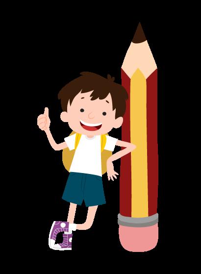 boy learning english - تقویت مهارت نوشتاری زبان انگلیسی