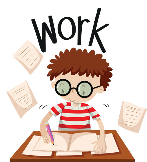 kids writing - تقویت مهارت نوشتاری زبان انگلیسی