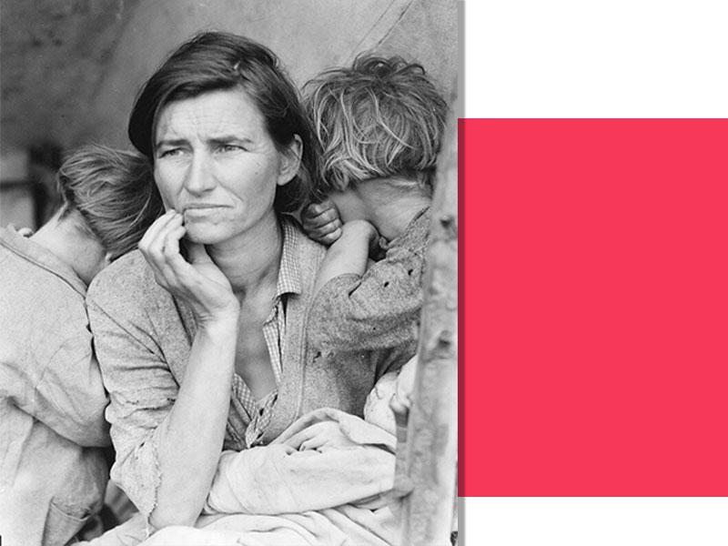 mother - داستان پشت پرده عکس هایمعروف جهان