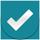 orange check tick icon 14 - 27 نکته ی مهم برای اصول بنیادی طراحی موشن گرافیک