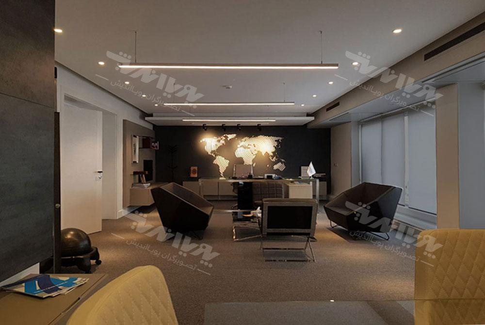 نورپردازی نمای داخلی