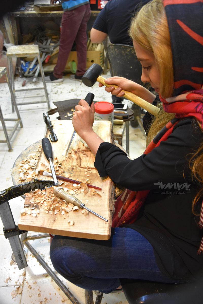 peykartarashi10 - آموزش پیکر تراشی با چوب ، مجسمه سازی با چوب