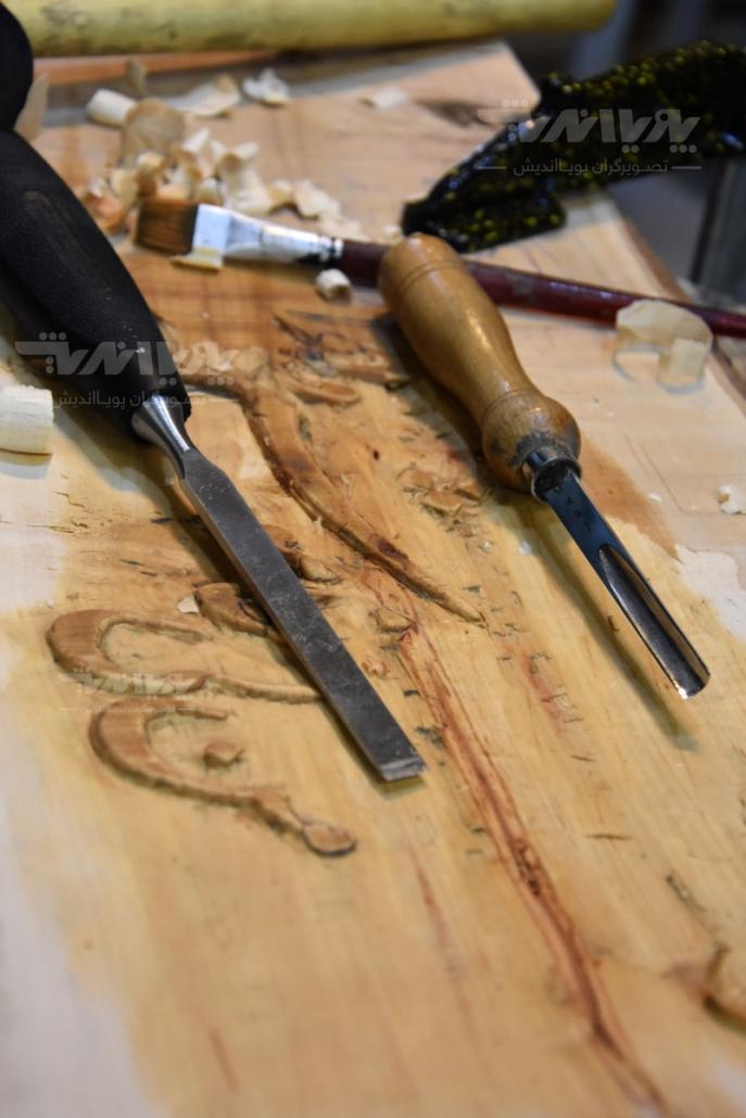 peykartarashi11 687x1030 - آموزش پیکر تراشی با چوب ، مجسمه سازی با چوب