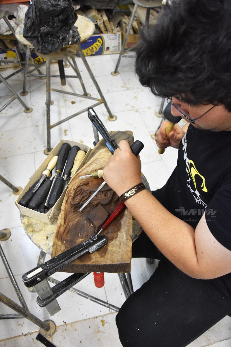 peykartarashi5 - آموزش پیکر تراشی با چوب ، مجسمه سازی با چوب