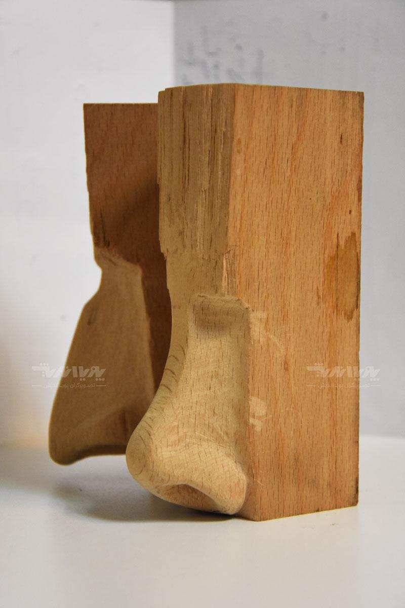 peykartarashi9 - آموزش پیکر تراشی با چوب ، مجسمه سازی با چوب