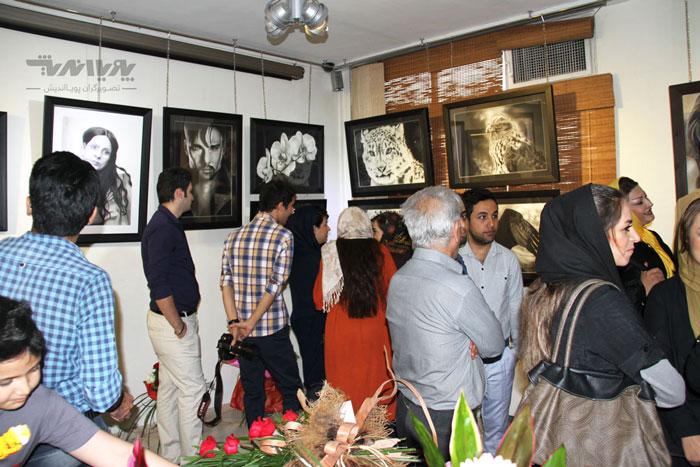 نمایشگاه های نقاشی سیاه قلم