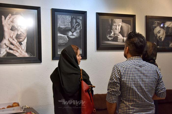 نمایشگاه نقاشی سیاه قلم