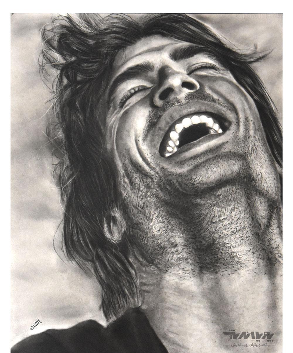 siah ghalam 1 - نقاشی سیاه قلم