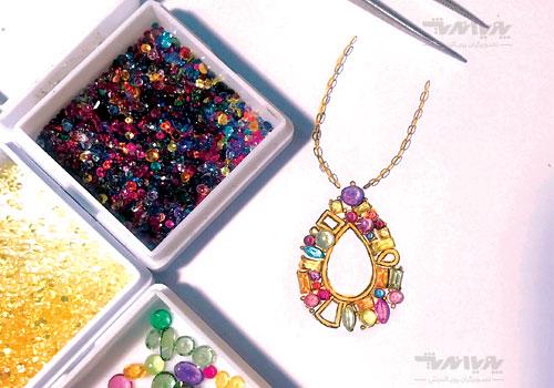 tarahijavaher10 - آموزش آنلاین و مجازی طراحی جواهرات