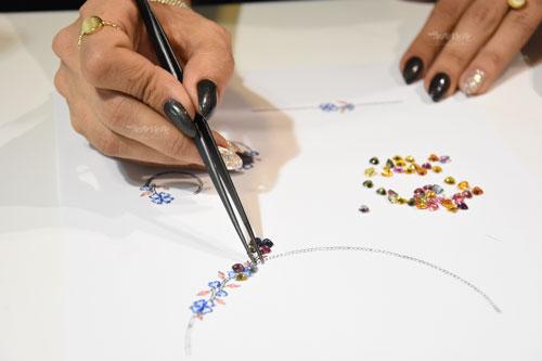 کلاس های طراحی جواهر