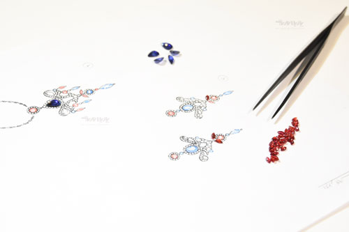 کلاس طراحی جواهر