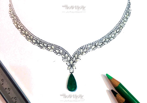 tarahijavaher6 - آموزش آنلاین و مجازی طراحی جواهرات