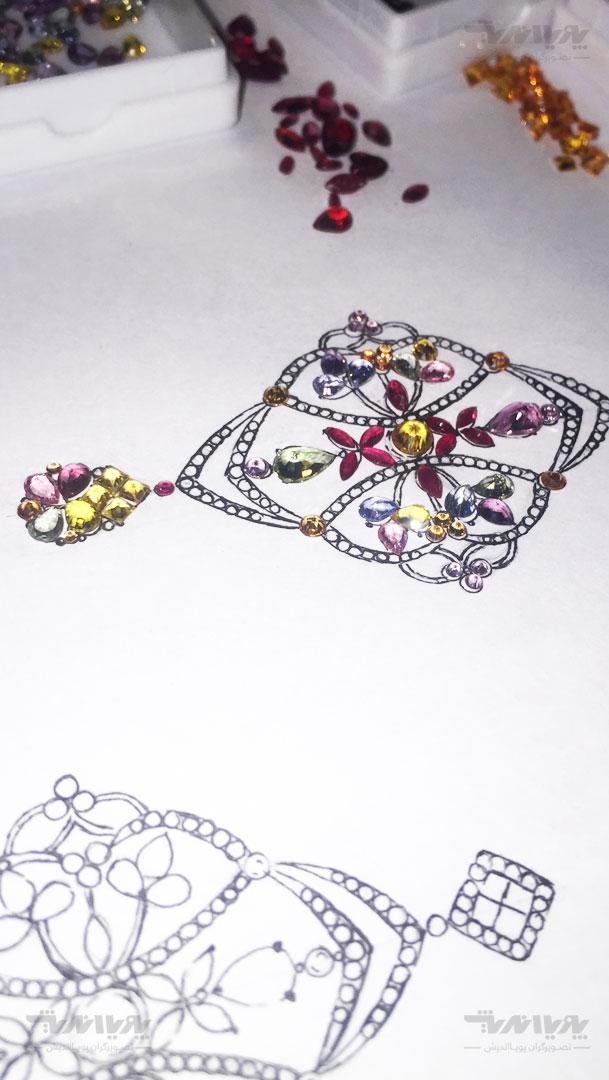 tarahijavaherat 10 - آموزش آنلاین و مجازی طراحی جواهرات