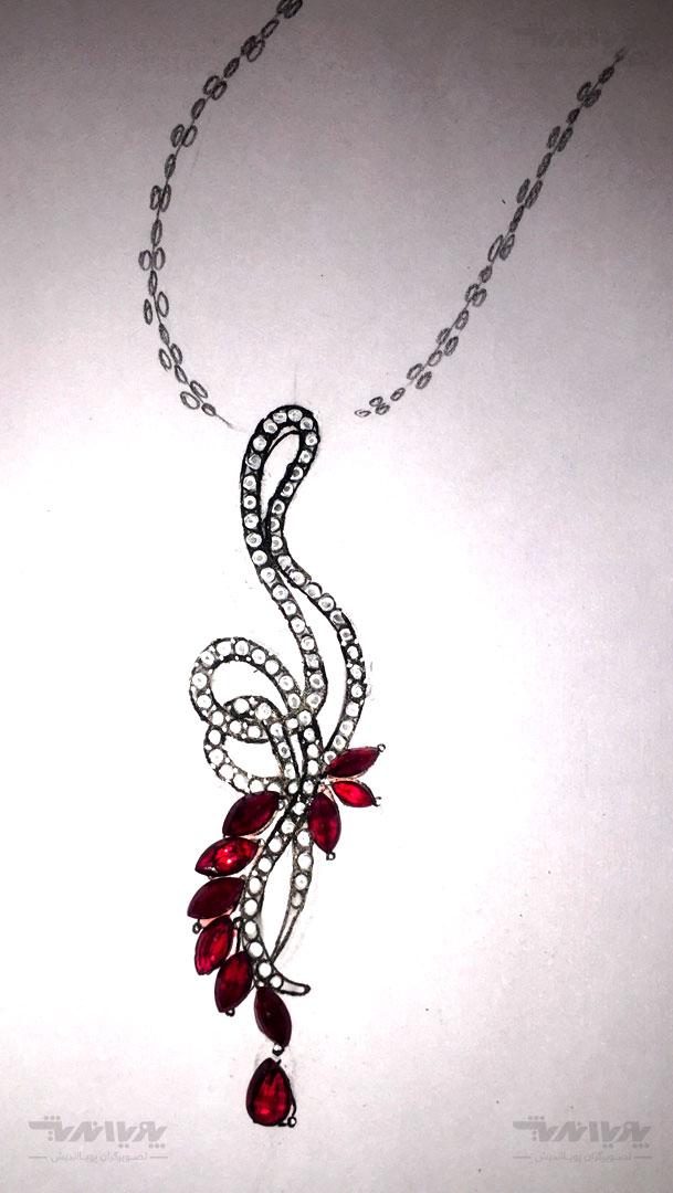 نمونه کارهای طراحی جواهر