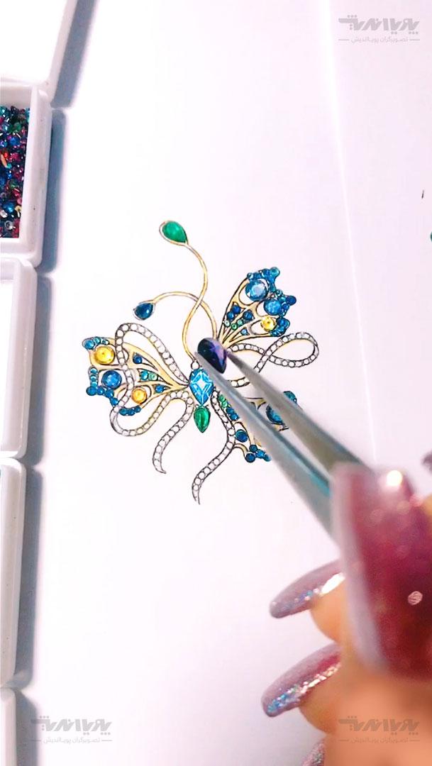 tarahijavaherat 4 - آموزش آنلاین و مجازی طراحی جواهرات