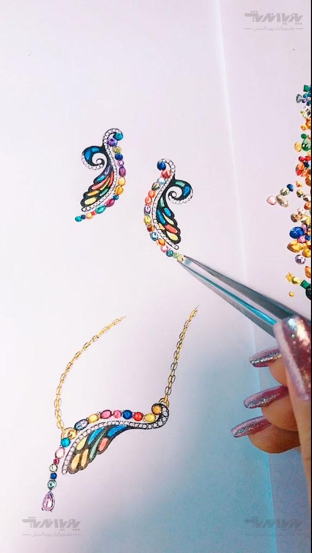 دوره طراحی جواهر