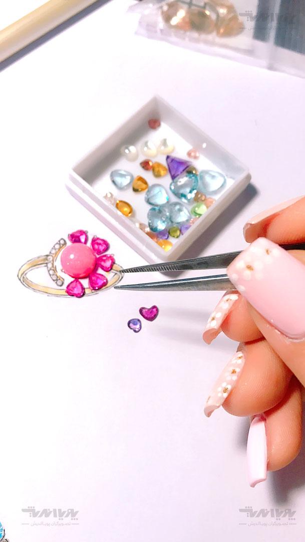 tarahijavaherat 7 - طراحی جواهرات