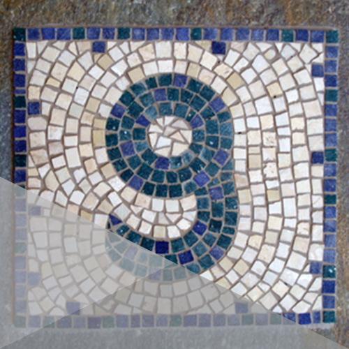 mosaics - اجرای کاشی شکسته