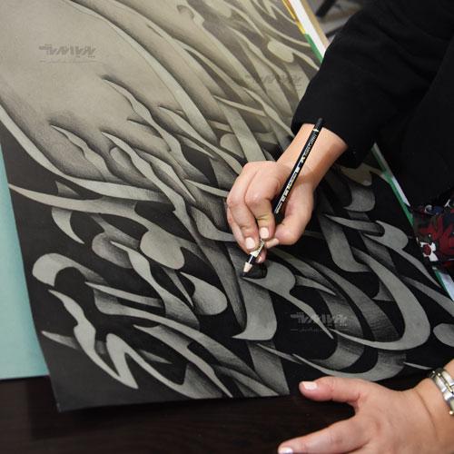 کشیدن نقاشیخط