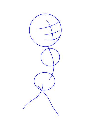 tarahi character step1 pinocchio - آموزش طراحی کاراکتر