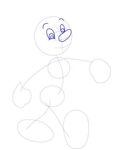 tarahi character step3 pinocchio - آموزش طراحی کاراکتر