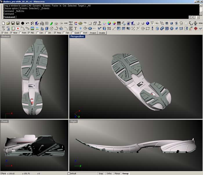 3d workspace - ویژگی های راینو 6