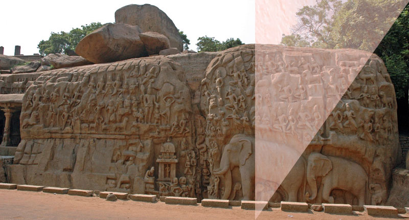 Mahabalipuram Arjuna - نقش برجسته چیست ؟