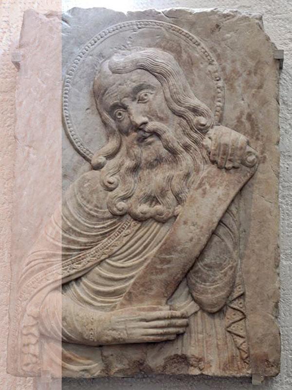 Saint phylactery Louvre - نقش برجسته چیست ؟