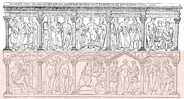 Sarcophagus Iunii Blassi 1 - نقش برجسته چیست ؟