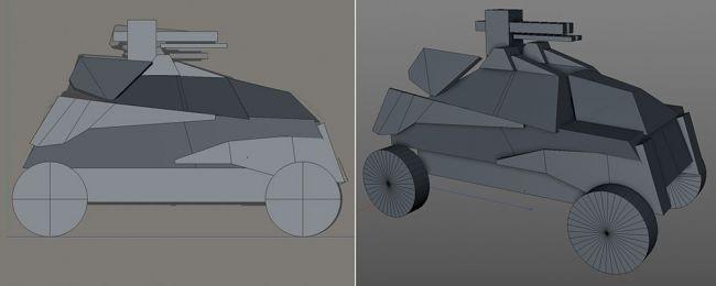 block - مدل سازی ماشین در سینما فوردی