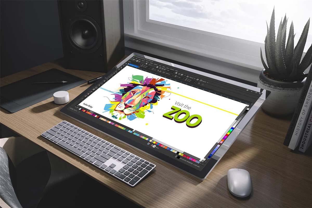 coreldrawy - طراحی با قلم نوری در کورل