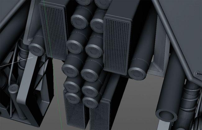 interest - مدل سازی ماشین در سینما فوردی