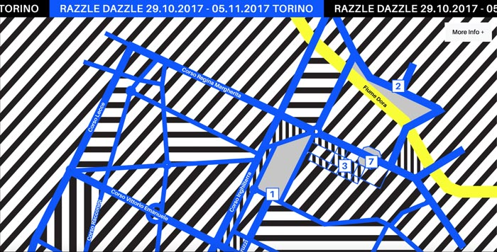 razzle dazzle - طراحی گرافیک وب سایت به کمک تصویرسازی انتزاعی