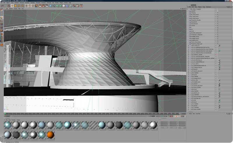 رندر آموزش راینو معماری