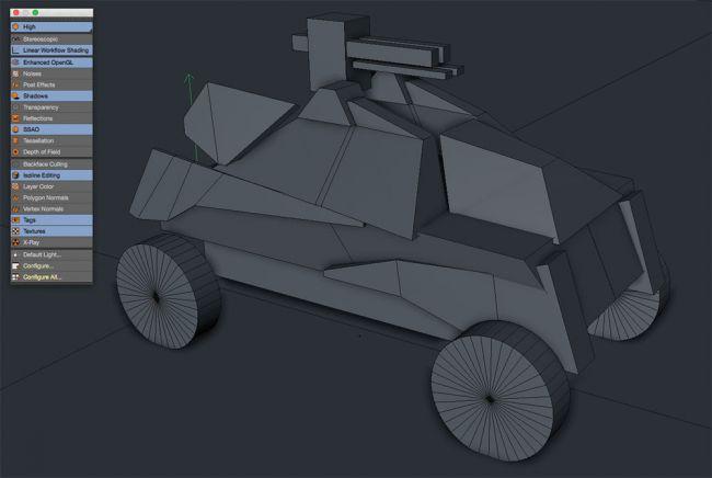 shasow - مدل سازی ماشین در سینما فوردی