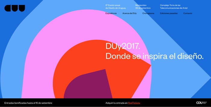 site - طراحی گرافیک وب سایت به کمک تصویرسازی انتزاعی