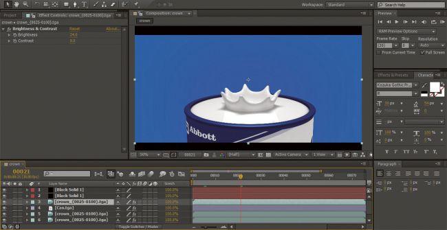 step 10 1 - ساخت پاشیده شدن قطرات با realflow