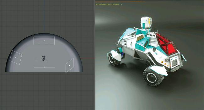 step 15 - مدل سازی ماشین در سینما فوردی