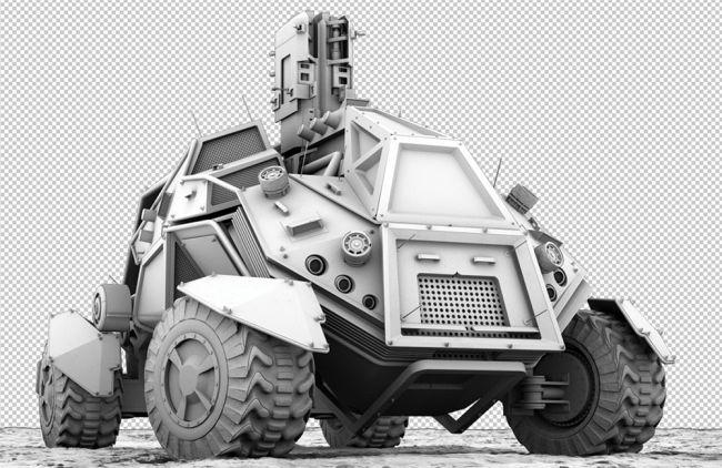 step 22 - مدل سازی ماشین در سینما فوردی