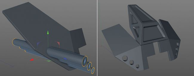step 8 - مدل سازی ماشین در سینما فوردی
