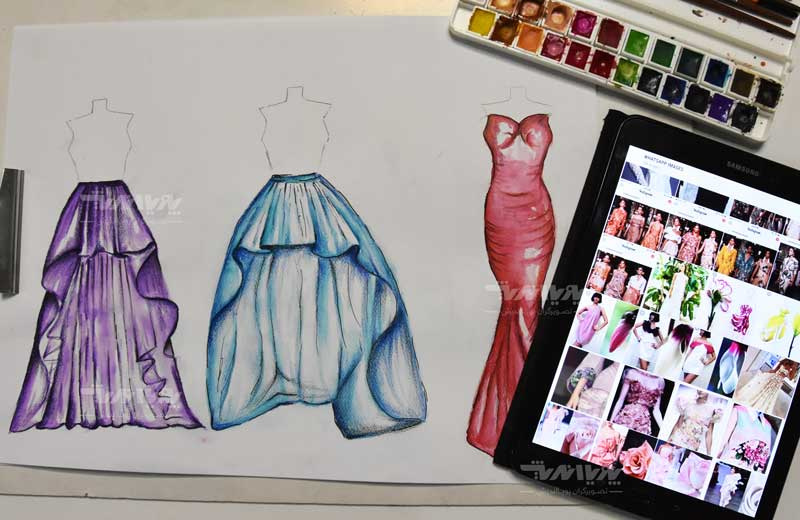 دوره طراحی لباس 14