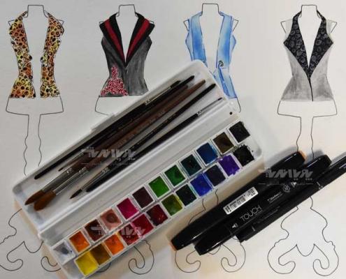 tarahilebas 26 495x400 - آموزش طراحی لباس