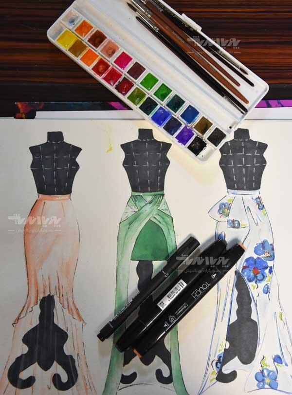 دوره طراحی لباس 27