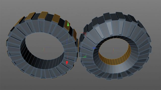 wheel 2 - مدل سازی ماشین در سینما فوردی