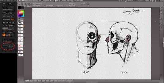 1 sketching ideas in photoshop - 10 موردی که نمی دانستید با ZBrush می توان انجام داد.