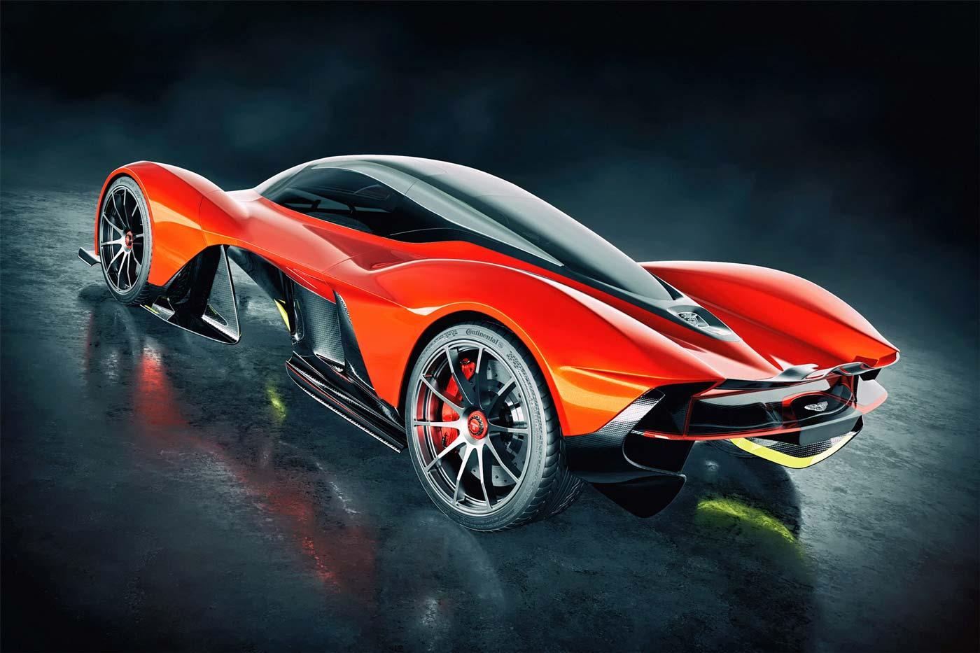 AMRB Red Rear - کاربردهای زیبراش ؛ طراحی اتومبیل با زیبراش